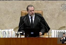 Dias Toffoli diz que no fim do inquérito a sociedade vai reconhecer acerto do STF