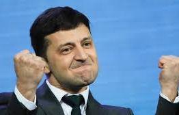 Comediante é eleito novo presidente da Ucrânia