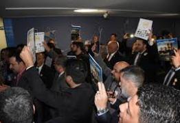 Em ato na Câmara, Policiais federais acusam Bolsonaro de traição