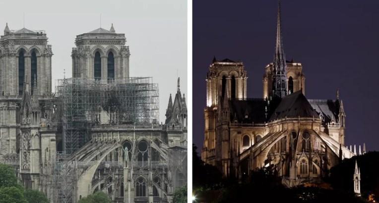 drame 300x161 - Incêndio na Catedral de Notre-Dame: compare antes e depois