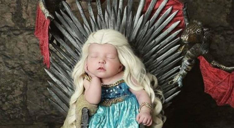 game of thrones bebê - Estes bebês caracterizados de Game of Thrones conquistaram Westeros e nossos corações