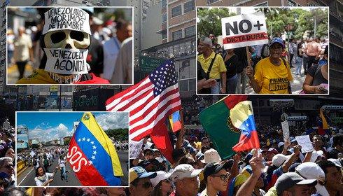 manifestação Venezuela - Governo brasileiro esperava golpe na Venezuela para amanhã -Por Helena Chagas