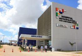 Governo prorroga intervenção nos Hospitais Metropolitano, de Trauma e de Mamanguape, na PB