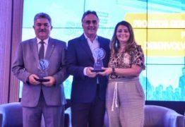 Luciano Cartaxo recebe prêmio Prefeito Empreendedor do Sebrae e dois projetos da PMJP são destaques