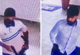 PM divulga imagens de suspeitos em assalto que deixou 16 feridos na UEPB
