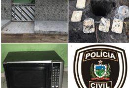 Polícia prende homem com mais de 10 Kg de crack e desarticula laboratório de drogas em João Pessoa