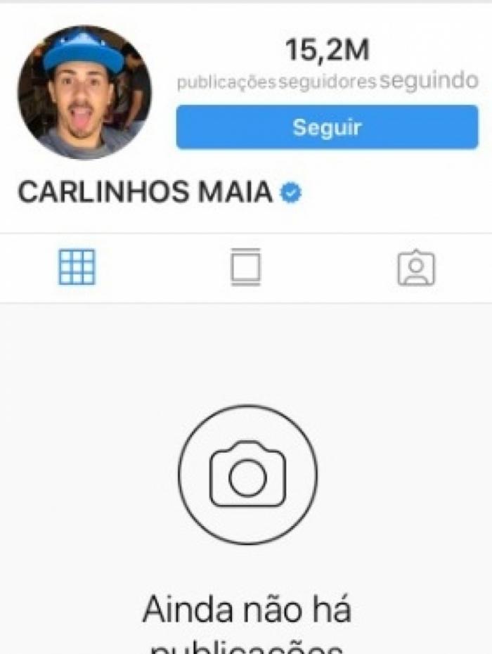 1 carlinhos 11242958 - Carlinhos Maia tranca Instagram após discussão com Whindersson Nunes