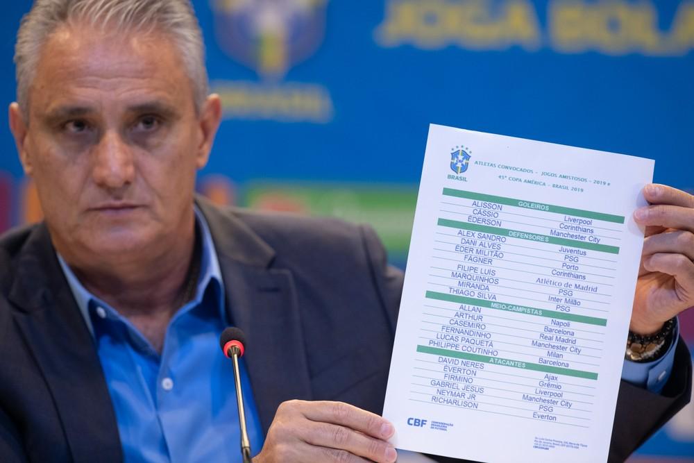 """20190517112040 5cdec338630cd - Tite divulga """"lista mais difícil"""" com Neymar, David Neres e Daniel Alves para a Copa América"""