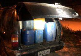 PRF apreende toneladas de combustível furtado do porto de Cabedelo