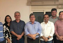 Integrantes do G10 se reúnem com João Azevêdo e reafirmam compromisso com o governo do estado