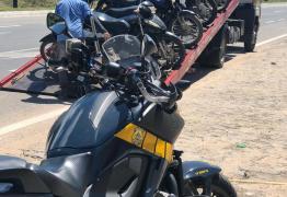 PRF apreende 60 motocicletas com irregularidades em João Pessoa e Cabedelo