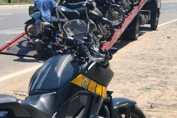 983c2a29 2962 41fa a320 8c72a143a23b - PRF apreende 60 motocicletas com irregularidades em João Pessoa e Cabedelo