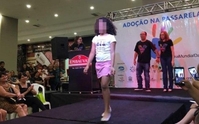 Evento de adoção em Cuiabá gera polêmica ao exibir órfãos em passarela