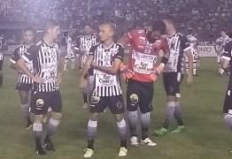 CAMPEONATO BRASILEIRO: Botafogo-PB e Santa Cruz-PE empatam com 1 a 1 em partida no Almeidão