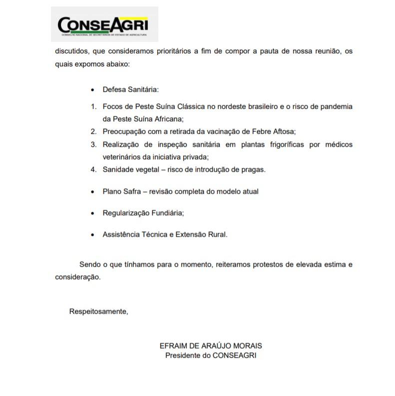 Capturar 56 - Efraim Morais participa de reunião com a ministra da Agricultura Tereza Cristina