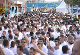Cerca de 10 mil pessoas participam de atividades esportivas e de lazer em evento do Sesc, Senac, Exército e Marinha na Capital