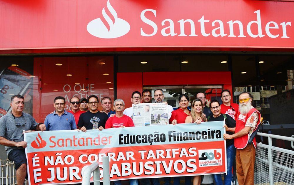 DSC 8576 1 1000x630 - Santander recorre a justiça do trabalho para continuar abrindo banco aos sábados; presidente do sindicato dos bancários repudia ação