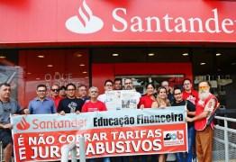 Santander recorre a justiça do trabalho para continuar abrindo banco aos sábados; presidente do sindicato dos bancários repudia ação