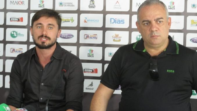 IvandroNeto WalterJr 678x381 - Treze irá à CBF reclamar das arbitragens em seus jogos pela Série C