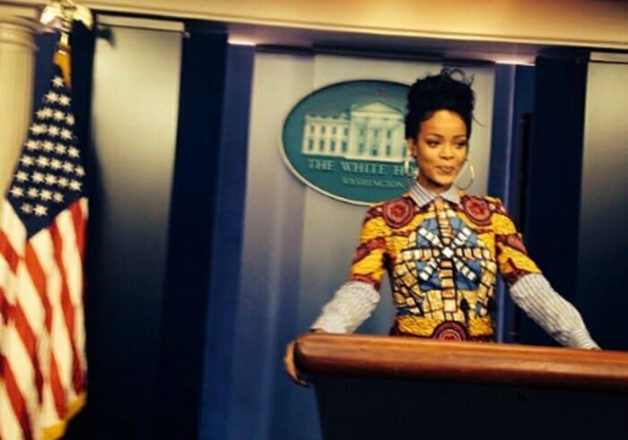 Rihanna 3 - Rihanna expõe autores de lei anti-aborto nos EUA, 'idiotas decidindo futuro de mulheres'