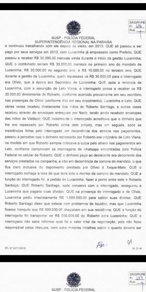 Screenshot 20190518 104350 512x1024 - EXCLUSIVO: Advogado diz que Fabiano Gomes revelou para Polícia Federal que Roberto Santiago não pressionou testemunhas - VEJA TODO O DEPOIMENTO
