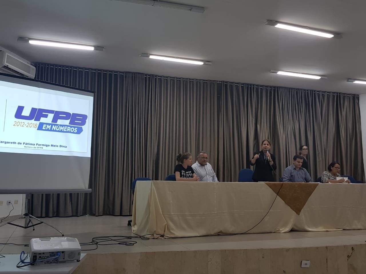 WhatsApp Image 2019 05 07 at 14.49.53 - UFPB EM NÚMEROS: Assembleia de professores, alunos e servidores formula carta de repúdio a corte de R$ 44 milhões