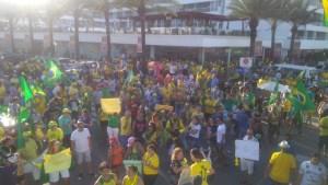 WhatsApp Image 2019 05 26 at 15.51.38 300x169 - Em João Pessoa, manifestantes defendem reformas, criticam 'Centrão' e relembram jingles de Bolsonaro; VEJA VÍDEO