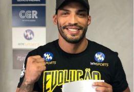 UM CAJAZEIRENSE 'BLINDADO' NO UFC: Atleta fecha contrato com maior evento de MMA do mundo