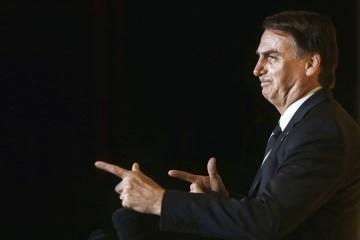 bolsonaroarma - 'FAKE NEWS': Bolsonaro contra-ataca a 'Folha' e nega intenção de fechar Congresso e STF