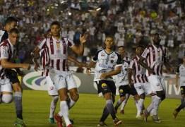 FINALISTA DA COPA DO NORDESTE: Botafogo vence Náutico em jogo no Almeidão