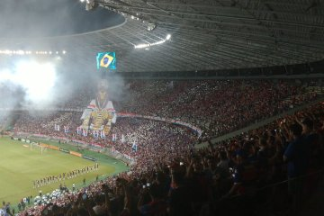 castelão - COM ARENA LOTADA: Botafogo enfrenta Fortaleza fora de casa e primeiro tempo termina sem gols