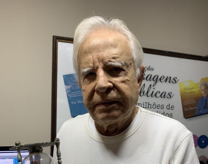 cid moreira e1557143467253 - QUEBRANDO O SILÊNCIO: Cid Moreira faz revelações de bastidores da Globo e comenta sobre 'feitiços' para aumentar audiência