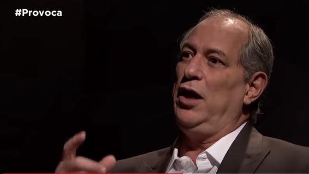 ciro gomes entrevista tv cultura - 'FOGO NAS RUAS': Ciro Gomes afirma que Brasil não aceitará ações antidemocráticas de Bolsonaro