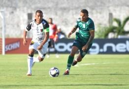 Marcos Aurélio treina com bola, mas ainda é dúvida para encarar o Fortaleza pela final do Nordestão