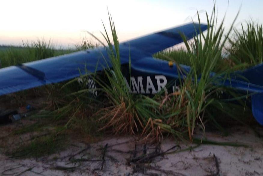 le cirque amar santa rita aviao queda clickpb - Avião usado para publicidade do Cirque Amar sofre pane e cai em Santa Rita