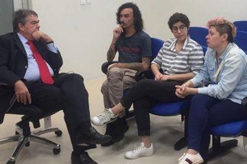 Deputado Lindolfo Pires firma compromisso com o cinema paraibano: 'vamos incentivar esta economiacriativa'