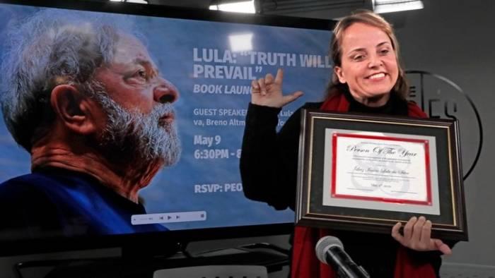 lurian e1557528014939 - PERSONALIDADE DO ANO: Lula é homenageado em evento de Nova York