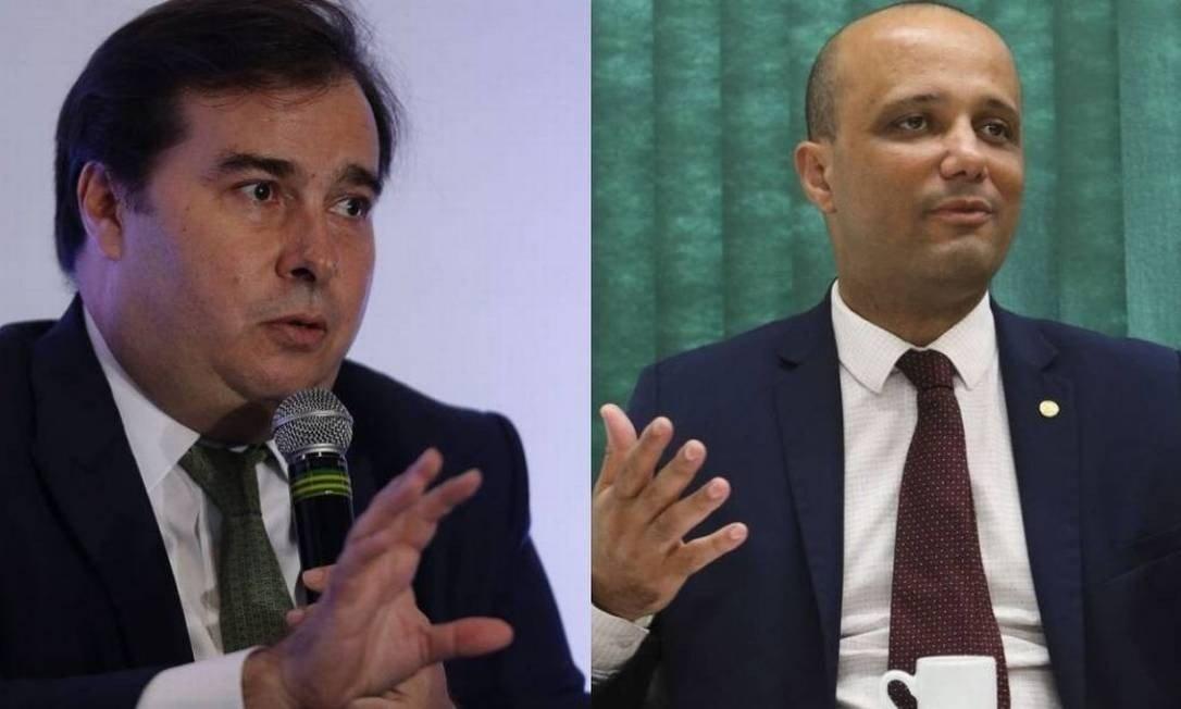 maia 2 - 'ESTÁ EXCLUÍDO DA MINHA RELAÇÃO':Rodrigo Maia anuncia rompimento com líder do governo