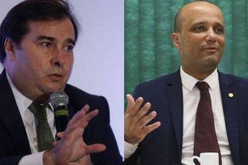 'ESTÁ EXCLUÍDO DA MINHA RELAÇÃO':Rodrigo Maia anuncia rompimento com líder do governo