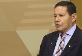 DEFENDENDO O GOVERNO: Mourão diz que aprovação de reforma da Previdência vai desbloquear orçamento