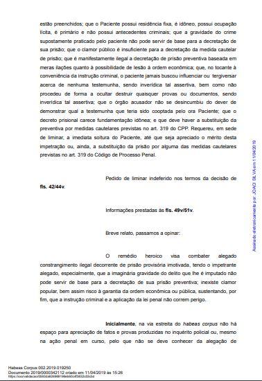 mp2 - CRISE E RACHA NO MP: Parecer pela soltura de Roberto Santiago de Dr. Sagres é contestado pelo GAECO - VEJA NOTA