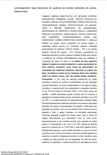 mp3 - CRISE E RACHA NO MP: Parecer pela soltura de Roberto Santiago de Dr. Sagres é contestado pelo GAECO - VEJA NOTA
