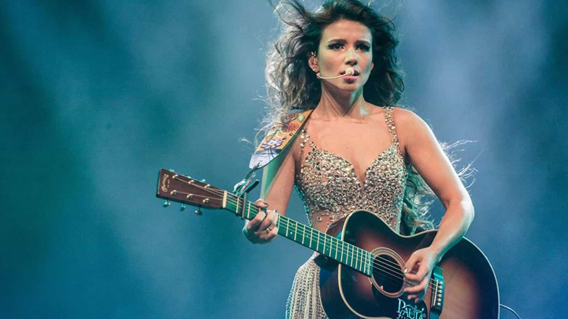 naom 58088662d170d - Paula Fernandes convida Luan Santana para versão de 'Shallow'