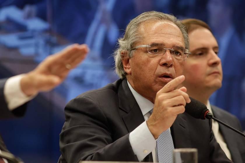 paulo guedes - Ministro da Economia diz que reajuste do salário mínimo depende da aprovação da Reforma da Previdência