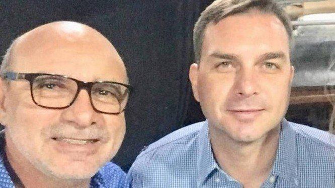 queiroz e flavio - Após devassa nas contas de Flávio Bolsonaro, MP pode pedir prisão de Fabrício Queiroz