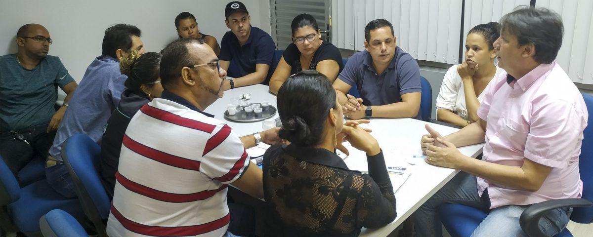 sedurb - Sedurb firma parceria com comerciantes do Centro Comercial de Passagem