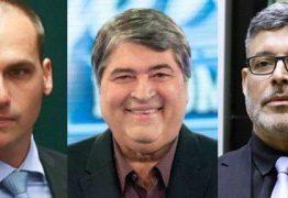 BATE BOCA NO PSL:por causa de Datena, Alexandre Frota e filho de Bolsonaro discutem noTwitter