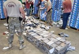 TRÁFICO INTERNACIONAL: PF apreende 1 tonelada de cocaína em carga de mangas no porto de Natal