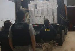 CABEDELO: Operação policial apreende maior carga de cigarros contrabandeados do Nordeste