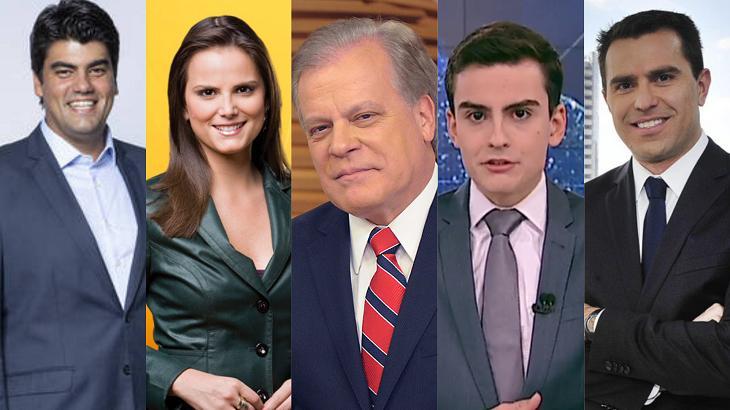 ncoras telejornaisf2 - GUERRA BELO IBOPE: emissoras locais e nacionais apostam em noticiários para elevar seus números pela manhã